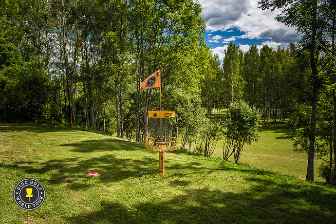Järva DiscGolfPark in Stockholm, Sweden, plays host to this weekend's European Masters. Photo: Eino Ansio, Disc Golf World Tour