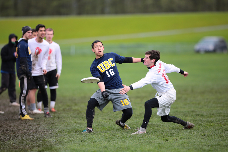 UBC's Nicholas Yun at the 2016 Northwest Challenge. Photo: Brian Chu -- UltiPhotos.com.
