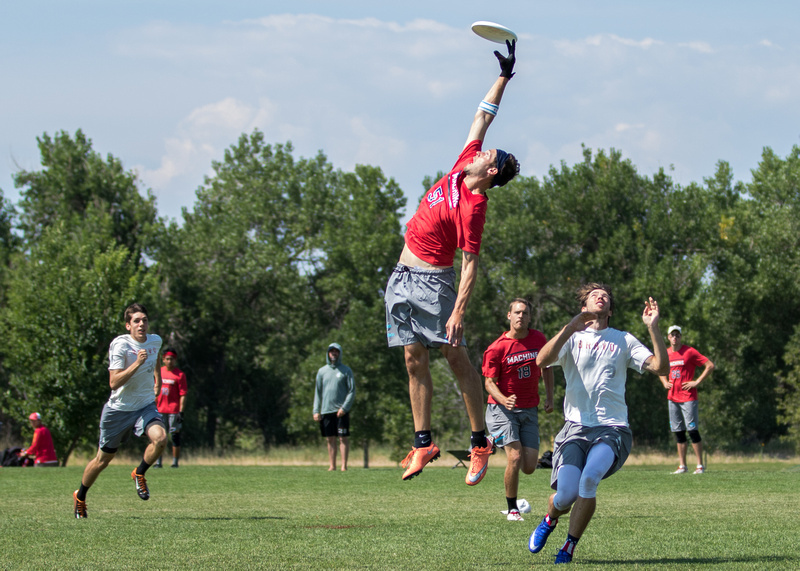 Chicago Machine and Denver Johnny Bravo will face off in one of pool play's most anticipated matchups. Photo: Ken Forman -- UltiPhotos.com