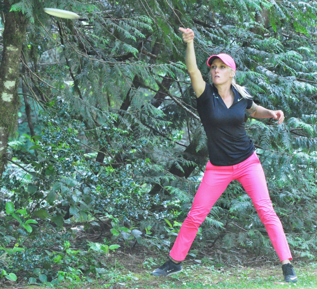 Catrina Allen won 19 of the 24 Women's Open tournaments she played in 2016. Photo: PDGA